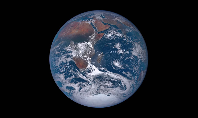 The Blue Marble - Earth seen from space